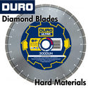 Duro Diamond Blades for Hard Materials