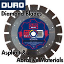 Duro Diamond Blades for Asphalt and Abrasive Materials