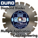 Duro Diamond Blades for Multiple Applications - Civil Engineering