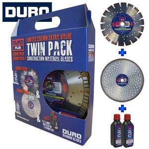 "Duro Twin Pack 12"" 300mm"