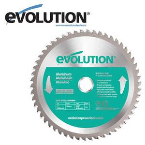 Evolution 180 mm Aluminiuml Blade for EVO180