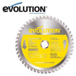 Evolution 180 mm Stainless Steel Blade for EVO180