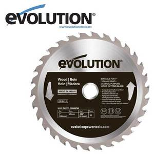 Evolution 180 mm Wood Blade for EVO180