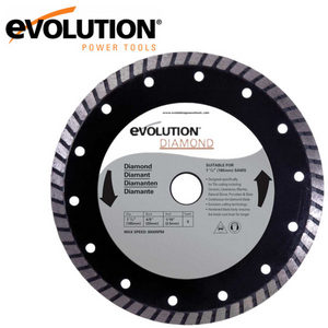 Evolution 185mm Diamond Saw Blade