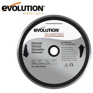 Evolution 210 mm Diamond Blade