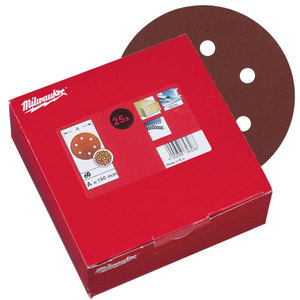 Milwaukee 150mm 60 Grit Sanding Discs