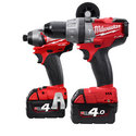 Milwaukee M18PP2A-402C 'FUEL' Twin Pack