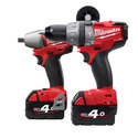Milwaukee M18PP2B-402C 'FUEL' Twin Pack