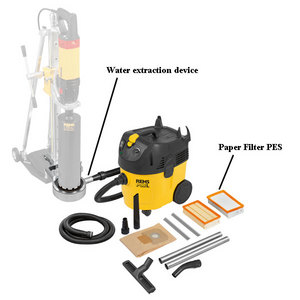 REMS Pull L Set W Industrial Wet & Dry Dust Extractor