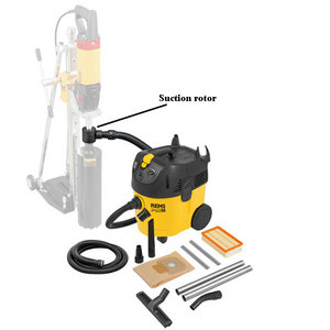 REMS Pull M Set D Industrial Wet & Dry Dust Extractor