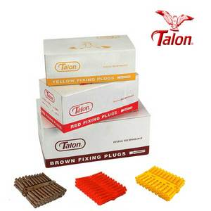 Talon Plastic Wall Plugs