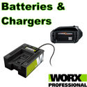 Worx Batteries and Chargers