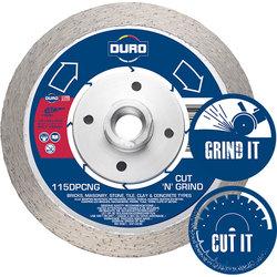 Duro 115DPCNG Cut 'n' Grind Combination Diamond Blade