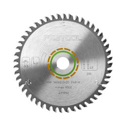 Festool 160 mm Fine Tooth Saw Blade - 48 Tooth