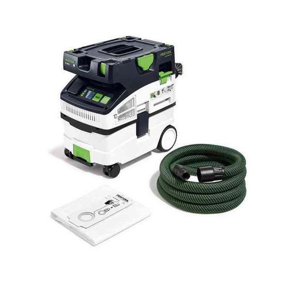 Festool Power Tools, , Festool CTM MIDI I CLEANTEC M Class Mobile Dust Extractor 110v