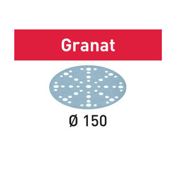 Festool GRANAT P40 Grit Sanding Disc 150 mm Diameter