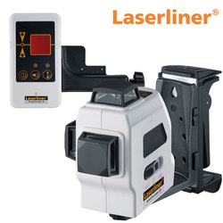 LaserLiner AutoLine Laser 3D Plus With RX40 RangeXtender