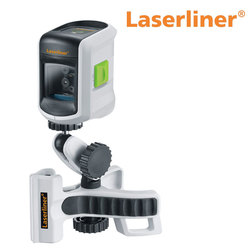 LaserLiner SmartVision Laser Set with FlexClamp Plus