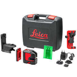 Leica Lino L2P5G Green Beam Cross Line and Point Laser