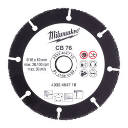 Milwahkee CB 76 mm Carbide Blade