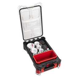 Milwaukee 12pc Hole Dozer Holesaw Set In Packout Box