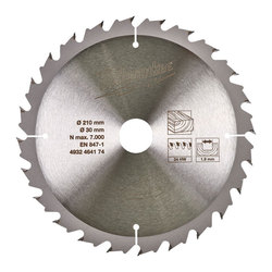 Milwaukee 24 Tooth Blade For M18FTS210 Table Saw