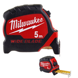 Milwaukee 5m Premium Wide Blade Tape Measure
