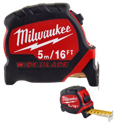Milwaukee 5m/16ft Premium Wide Blade Tape Measure