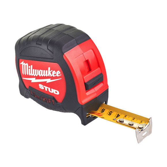 Stud tape measure wooden vanity unit