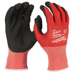 Milwaukee Cut Level 1 Dipped Gloves - XXLarge