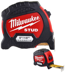 Milwaukee GEN II 5m/16ft Stud Tape Measure