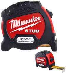 Milwaukee GEN II 8m/26ft Stud Tape Measure