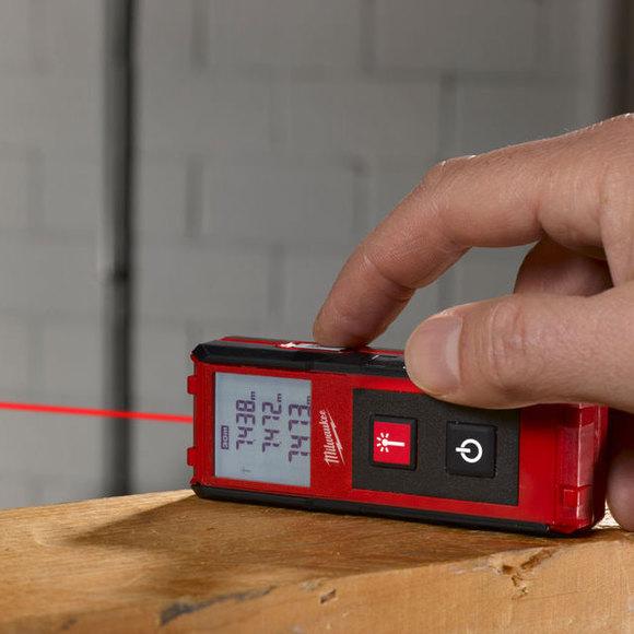 Milwaukee Laser Wall For Saw : Milwaukee ldm laser distance meter