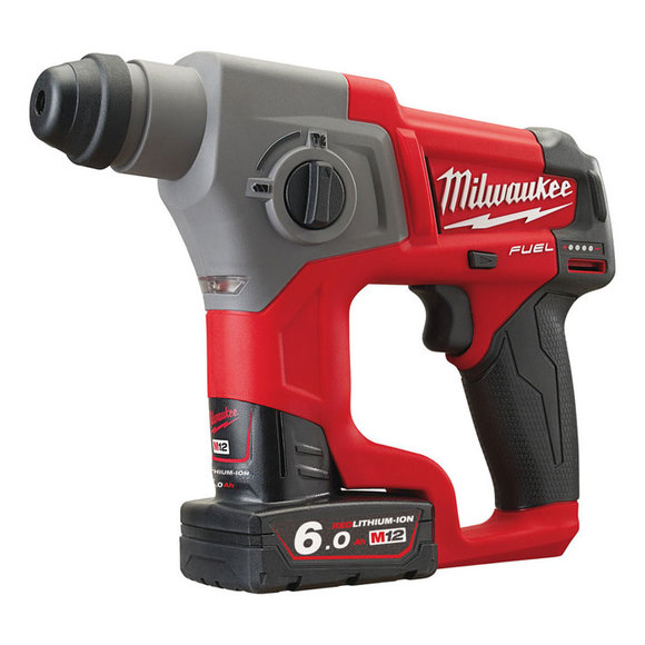 Milwaukee M12CH-602X 'FUEL' SDS Hammer Drill