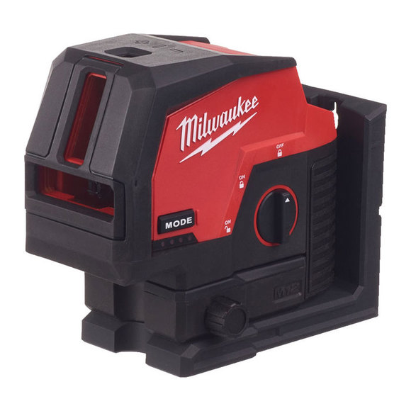 Milwaukee M12CLLP-0C Green Cross Line Laser With Plumb Points
