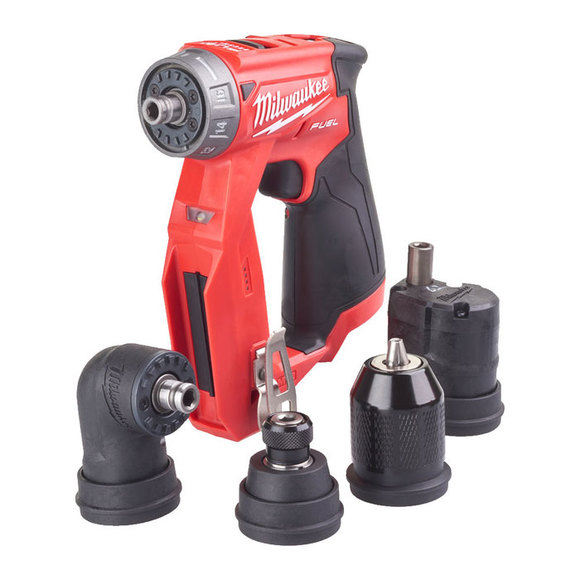 Milwaukee M12FDDXKIT-202X Drill Driver with Removable Chucks