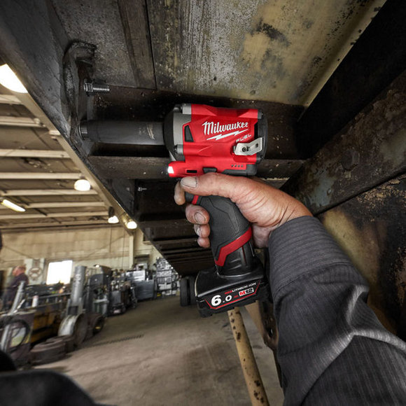 "Milwaukee Power Tools, , Milwaukee M12FIWF12-0 'FUEL' Sub Compact 1/2"" Impact Wrench"