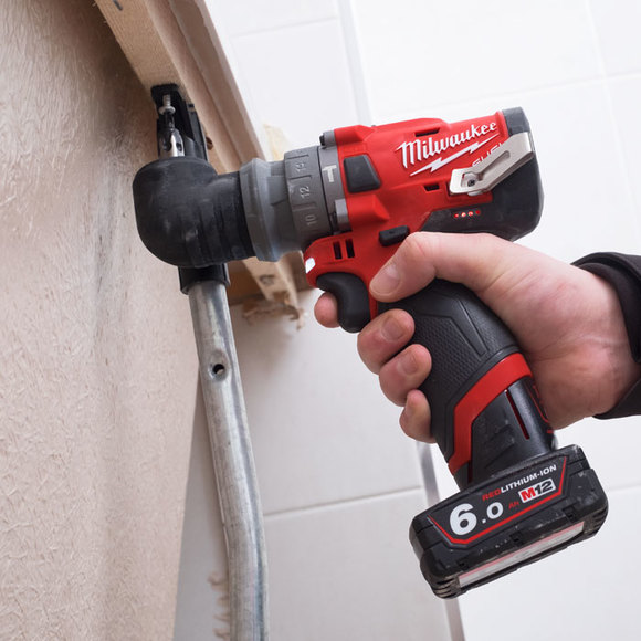 Milwaukee Power Tools, , Milwaukee M12FPDXKIT-0 'FUEL GEN II' Percussion Drill With Removable Chuck