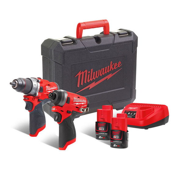 Milwaukee Power Tools, Milwaukee M12FPP2A-202C 'FUEL GEN II' 12 volt Power Pack