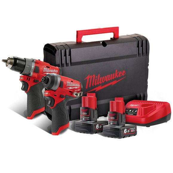 Milwaukee Power Tools, Milwaukee M12FPP2A-602X 'FUEL GEN II' 12 volt Power Pack