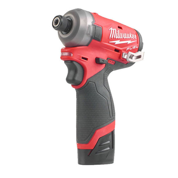 "Milwaukee Power Tools, Milwaukee M12FQID-202X 'FUEL SURGE' 1/4"" Hydraulic Impact Driver"