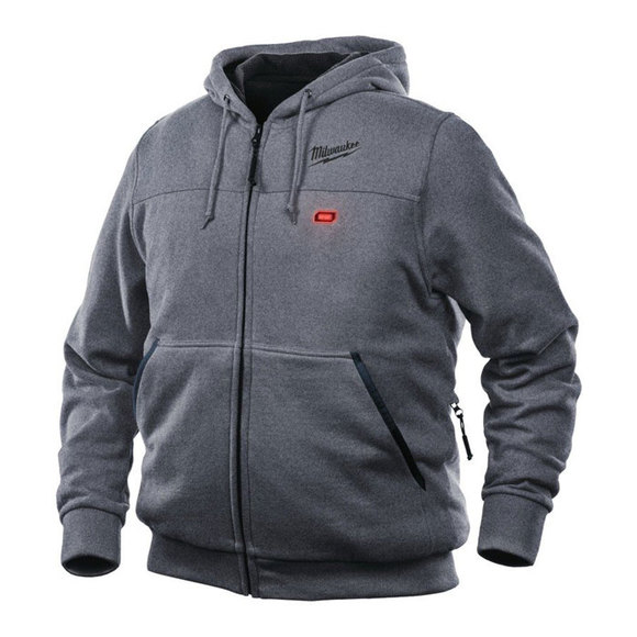 Milwaukee Power Tools, Milwaukee M12HHGREY-0 Heated Hoodie X Large