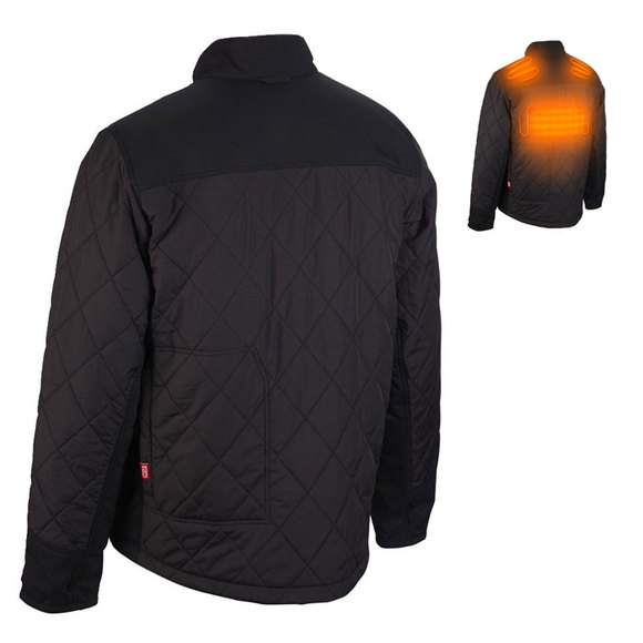 Milwaukee Power Tools, , Milwaukee M12HJP Heated Hybrid Puffer Jacket - XX Large
