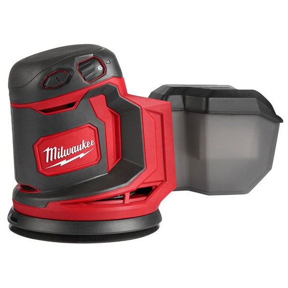 Milwaukee Power Tools, Milwaukee M18BOS125-0 125mm Cordless Random Orbital Sander