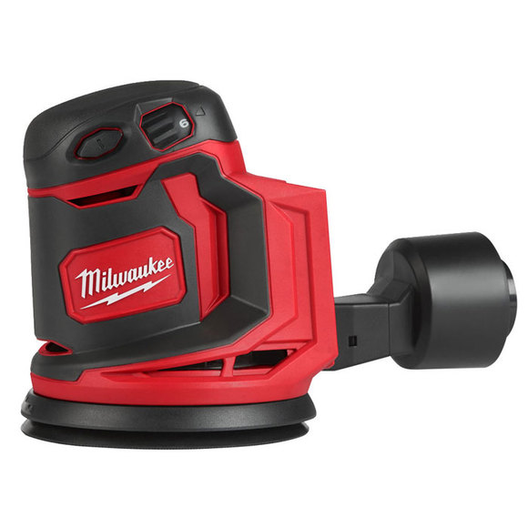 Milwaukee Power Tools, , Milwaukee M18BOS125-0 125mm Cordless Random Orbital Sander