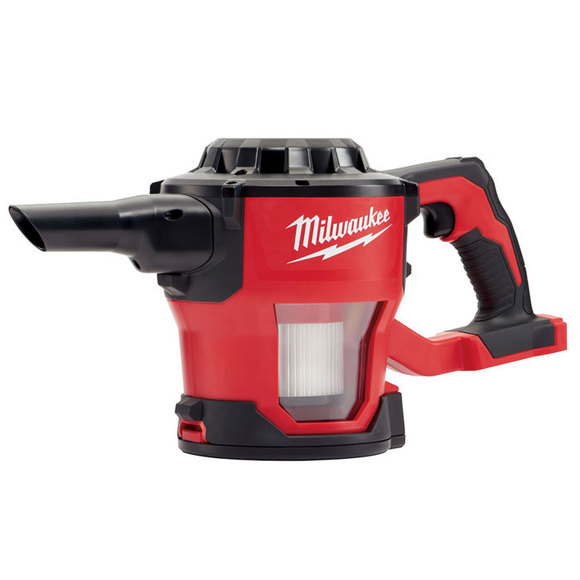Milwaukee Power Tools, Milwaukee M18CV-0 Compact Hand Vacuum Cleaner