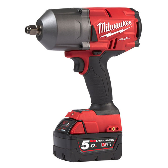 "Milwaukee Power Tools, Milwaukee M18FHIWF12-502X 'FUEL' 1/2"" Friction Ring Impact Wrench"