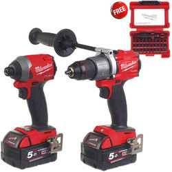 Milwaukee M18FPP2A2-502X 'FUEL' Gen 3 Power Pack