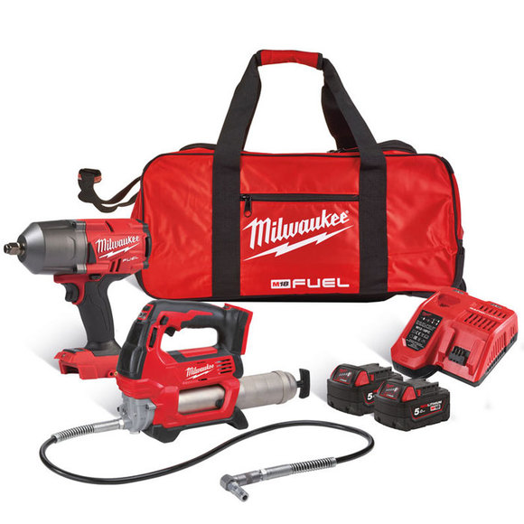 Milwaukee M18FPP2AI-502B Mechanics Power Pack