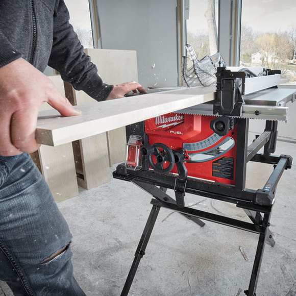 Milwaukee Power Tools, , Milwaukee M18FTS210-121B 'FUEL' Cordless Table Saw
